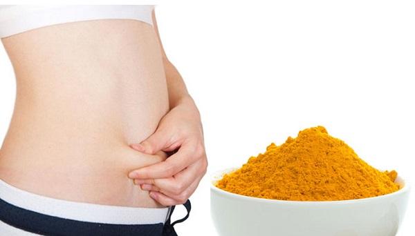 Uống tinh bột nghệ có thể giúp giảm cân